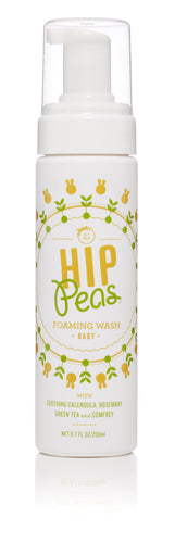 Hip Peas Foaming Baby Wash, Hip Peas, Green Baby Planet
