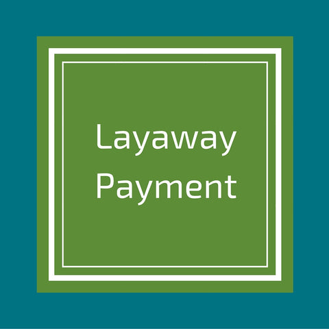 Layaway Payment, Green Baby Planet, Green Baby Planet