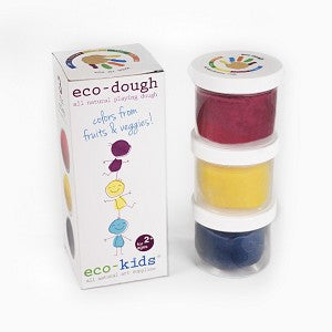 eco-kids - Eco dough 3pk, eco-kids, Green Baby Planet