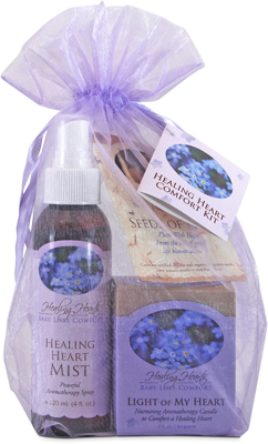 Earth Mama Angel Baby - Healing Heart Comfort Set