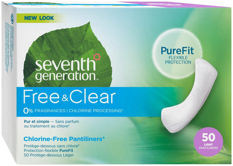 Seventh Generation - Free & Clear Ultra-Thin Pads, Seventh Generation, Green Baby Planet