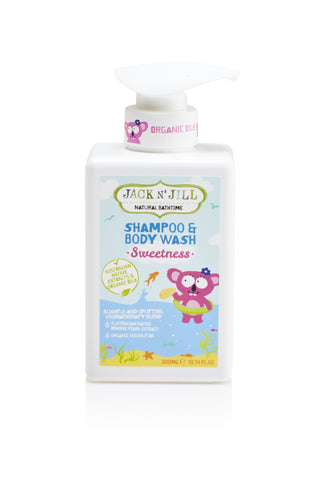 Jack N' Jill Kids - Sweetness Shampoo & Body Wash, Jack N' Jill Kids, Green Baby Planet