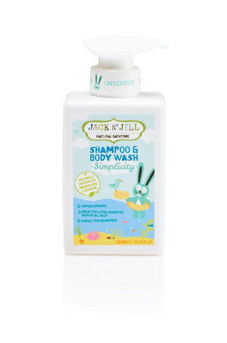 Jack N' Jill Kids - Simplicity Shampoo & Body Wash, Jack N' Jill Kids, Green Baby Planet