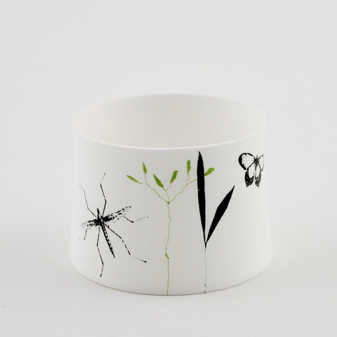 "Votive Candle Holder, ""Grass"""