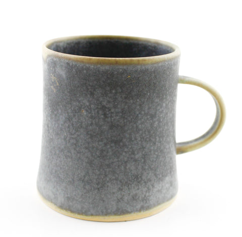 Greyish Ceramic Cup with Handle