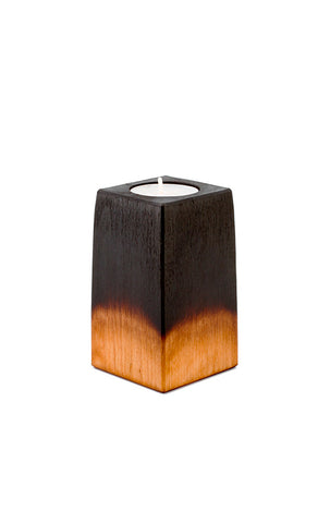 "Unique Birch Tealight Holder ""Dawn"""