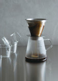 "Coffee Dripper and Pot ""Carat"""