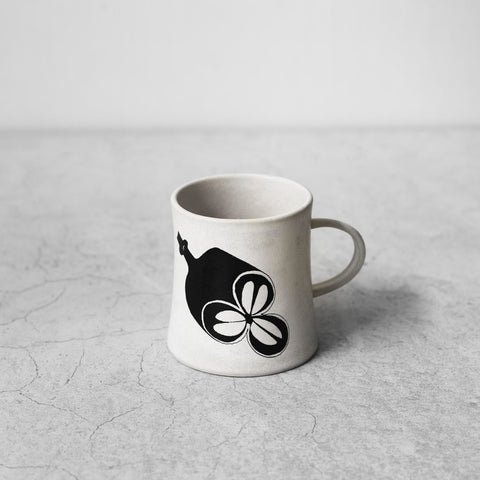 "Small Ceramic Cup with Handle ""Eucalypt"""