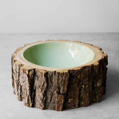 Log Bowl Eucalyptus