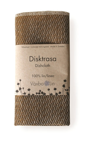 Linen Dish Cloth Umbra/Ochre