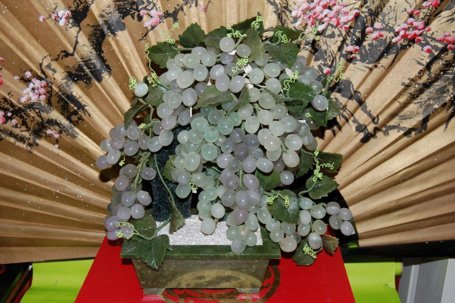 Jade Grape Trees—Meaning in Feng Shui