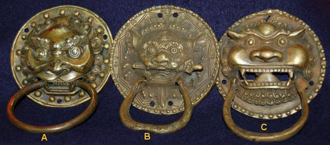 Bronze Door Mask - Door Knocker