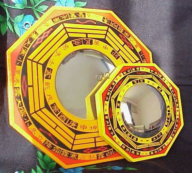 Bagua Mirrors several sizes - Concave and convex