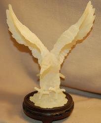 White Resin Eagle