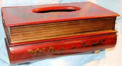 Tissue Wooden Case - Book Style
