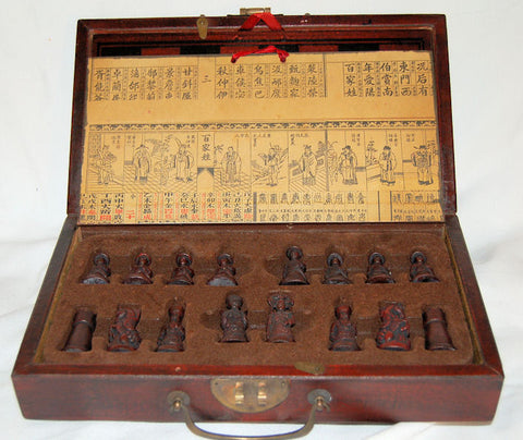 Chess Game with Wooden Case