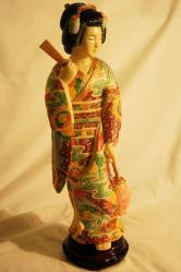 Resin Geisha Girl