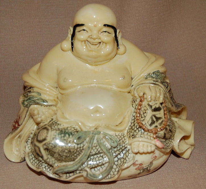 Resin Buddha sitting