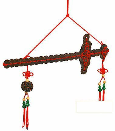 Feng Shui Coin Swords 3 sizes