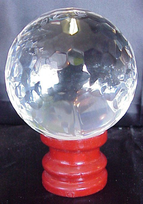 Feng Shui Crystal Faceted Globe