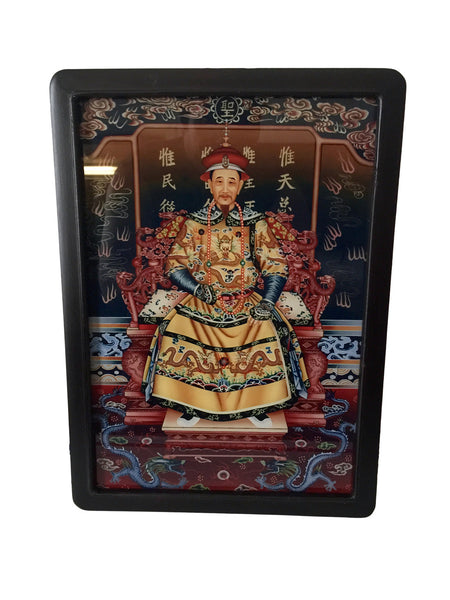 Beautiful Glass Painting of Chinese Princesses - several styles!