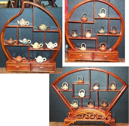 Chinese Shadow Boxes Display Stands - 3 Styles