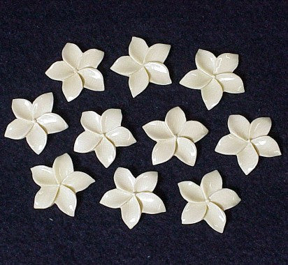 Mammoth Tooth Ivory Flowers
