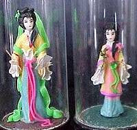 Miniature Flower Dolls