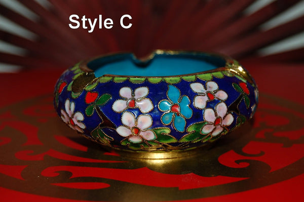 Cloisonne Ashtrays