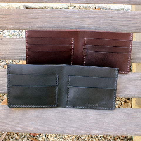 Men's Leather Wallets Handcrafted by Tagsmith