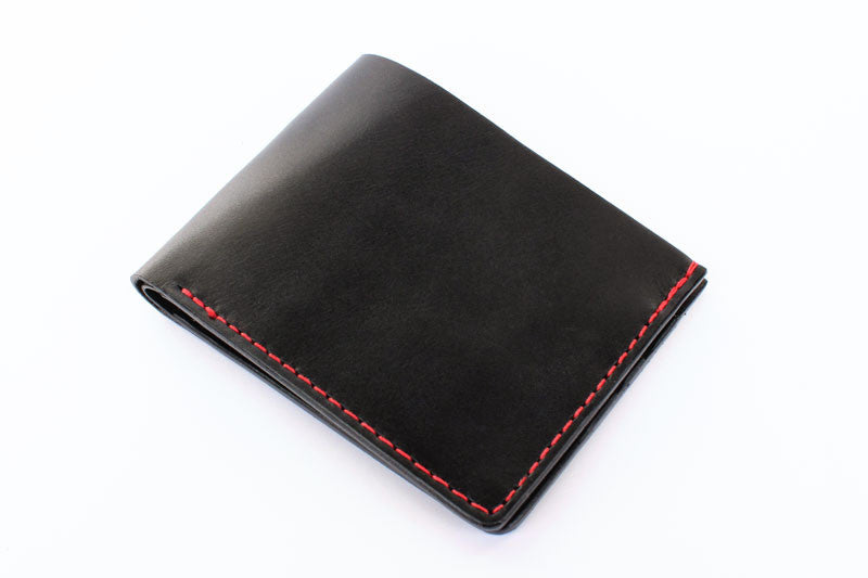 Men 39 S Leather Wallet Classic Five Pocket Tagsmith Handmade Leather Goods