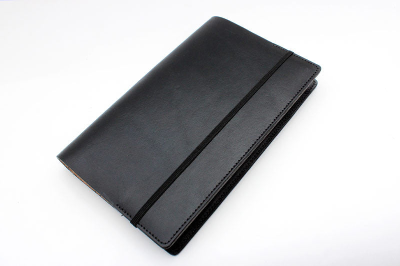 Large Leather Journal Cover - Tagsmith - Handmade Leather Goods