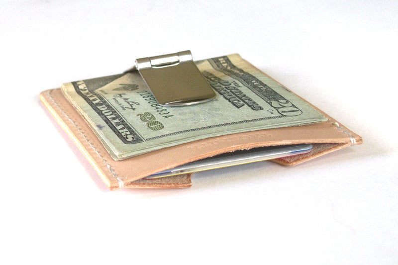 leather money clip card holder - Money Clip And Card Holder