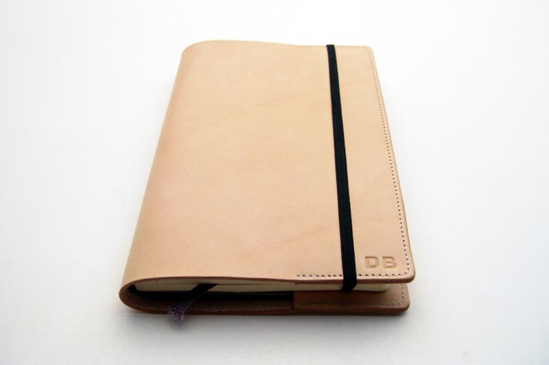 Refillable Leather Journal Covers - Tagsmith - Handmade Leather Goods