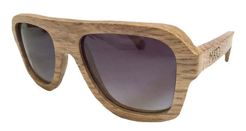 Duwood Aviator Wooden Sunglasses