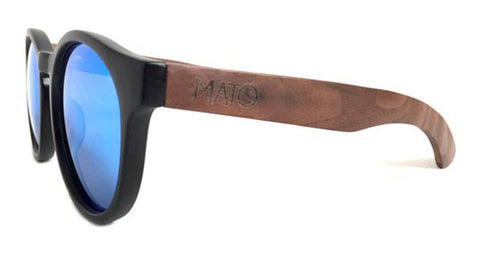 Unisex Polarized  Sunglasses With Brown Lens