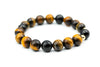 Natural Stone Spiritual Tiger Eye Beads Bracelets 14mm