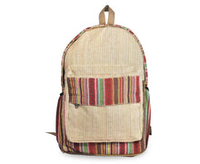 Load image into Gallery viewer, Yatri Hemp Made Light Weight Backpack for Multipurpose