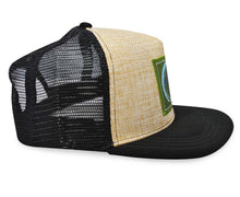 Load image into Gallery viewer, Mato Allo Trucker Hat Black Mesh Adjustable Snapback Baseball Cap
