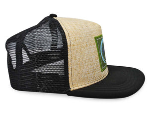 Mato Allo Trucker Hat Black Mesh Adjustable Snapback Baseball Cap