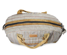 Load image into Gallery viewer, Mato Allo Overnight Weekender Travel Duffel Bag Brown Suede