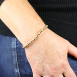 5mm Soothing Gold Bracelet Stretch