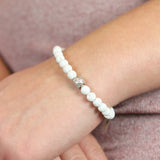 Essential Oil Diffusor White Bracelet