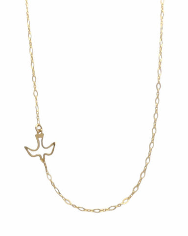 Dove Necklace - Gold