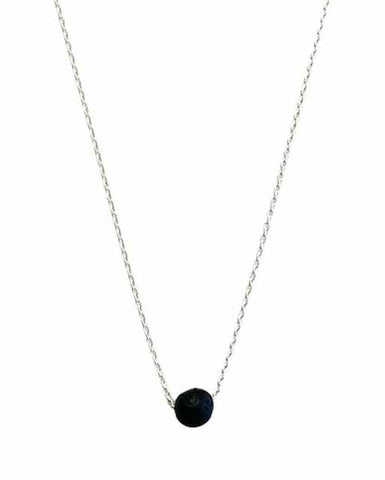 Essential Oil Necklace - Silver