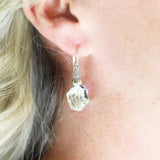 Princess Silver Earrings