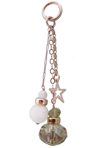 Sun, Moon & Stars Rose Gold Charm