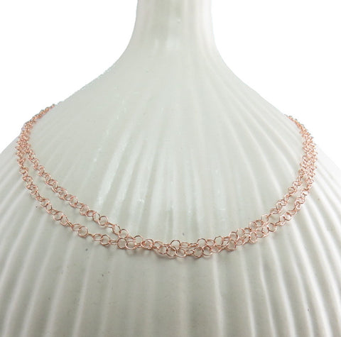 Casandra Rose Gold Chain