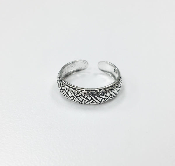Toe Ring - Knotted Ring