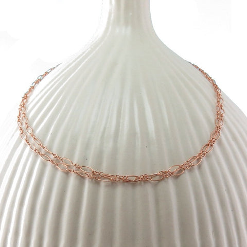 Vitality Rose Gold Chain